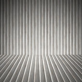 Corrugated Metal Interior — Stock Photo