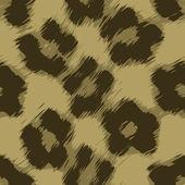 Leopard Print Vector — Stock Vector