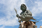 King Neptune Virginia Beach Statue — Stock Photo