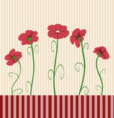 Poppies — Stock Vector