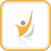 Icono de internet resumen vector — Vector de stock