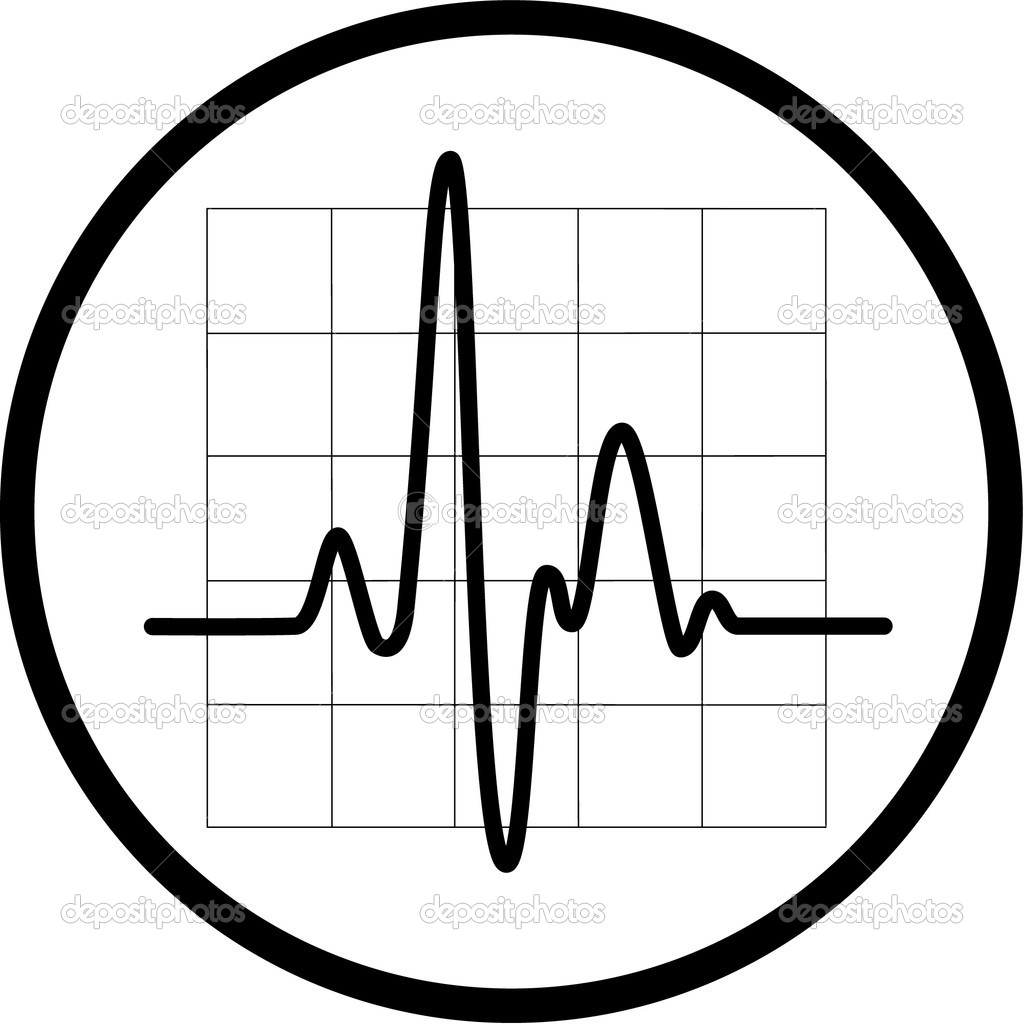 Vector cardiogram icon - Stock IllustrationHeartbeat Line Vector