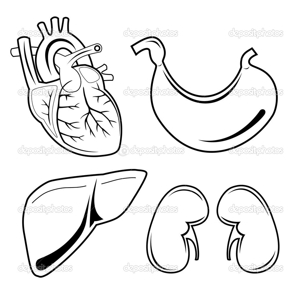 Vector medical icons. Black and white. Simply change. Other medical icons you can see in my portfolio. — Stock Vector #6709765