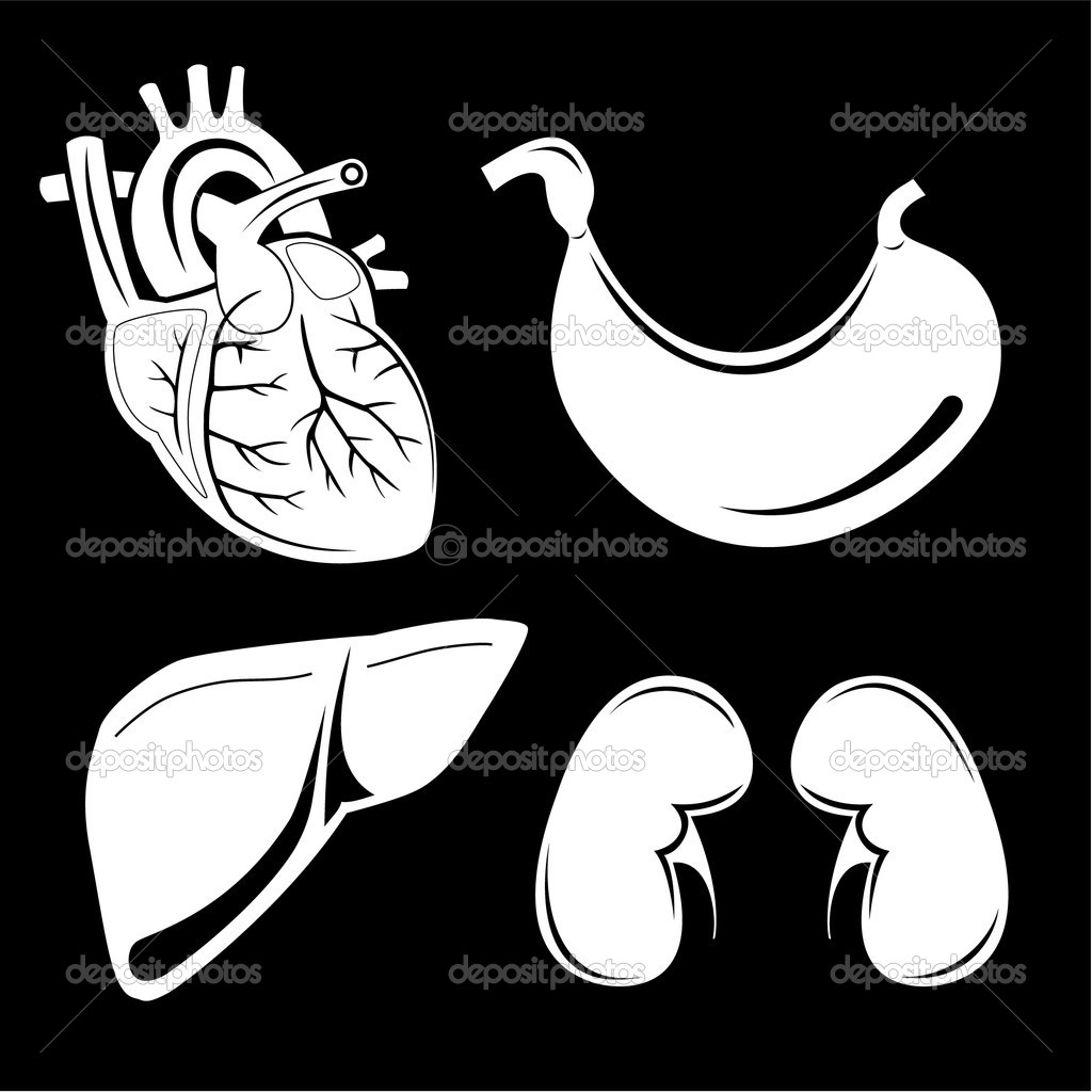 Vector medical icons. Black and white. Simply change. Other medical icons you can see in my portfolio. — Stock Vector #6709767