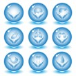 Royalty-Free Stock Vector Image: Vector medical icons
