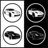 Vector car icons — Stock Vector