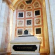 Cenotaph in Inside the famous National Pantheon in Lisbon - Stock Photo