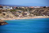 Mareta beach on the southern coast of the Sagres Portuguese Algarve region — Stock Photo