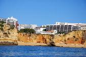 Dona Ana beach, Algarve coast in Portugal — Stock Photo