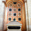 Cenotaph in Inside the famous National Pantheon in Lisbon — 图库照片