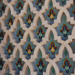 Decoration of Hassan II Mosque in Casablanca, Morocco — Foto Stock