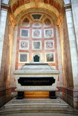Cenotaph in Inside the famous National Pantheon in Lisbon — Stock Photo