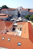 Panoráma města lisabonu v portugalsku — Stock fotografie