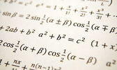 Math background — Foto de Stock