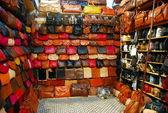 Malas-informationen in marrakesch — Stockfoto