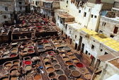 Vats in Fez, morocco — Stock Photo