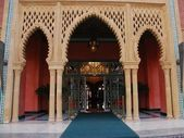 Moroccan doorway — Stock Photo