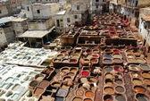 Vats in Fez, morocco — Stock Photo