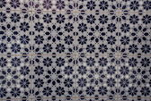 Mosaic ceramic tiles - Morocco — Stock Photo