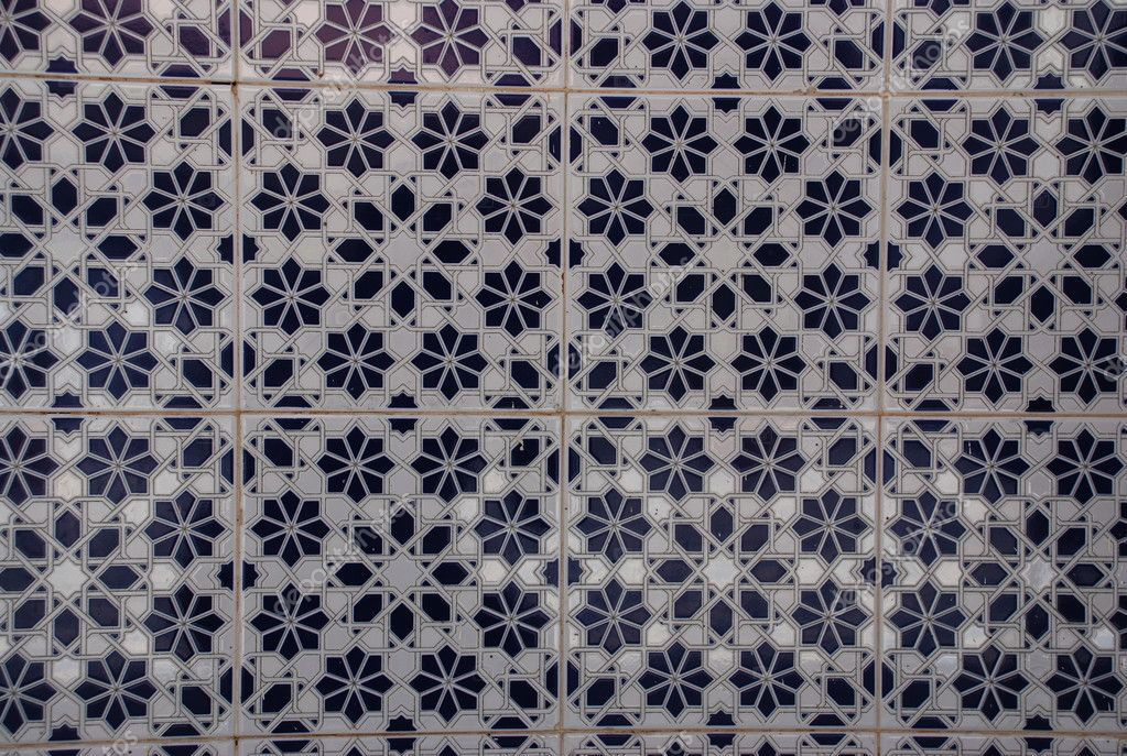 Mosaic Ceramic Tiles Morocco Stock Photo Fbatista72