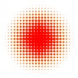 Halftone — Stock Photo