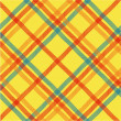 Plaid texture, vector pattern — Stock Photo #6665374