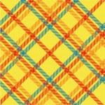 Plaid texture, vector pattern — Stock Photo