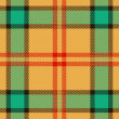 Plaid texture, vector pattern — Stock Photo