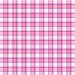 Pink plaid pattern - Stock Photo