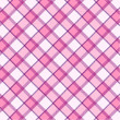 Pink plaid pattern - Foto Stock
