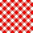 Red plaid pattern — Stock Photo