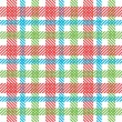 Bright plaid pattern — Stockfoto