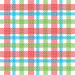 Stock Photo: Bright plaid pattern