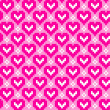 Royalty-Free Stock Photo: Seamless pattern with hearts
