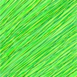 Abstract green background from lines - Stock Photo