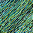 Abstract background from blue and green lines - Stock Photo