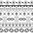 Decoration borders set — Stock Photo #6666061