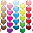 Multi-coloured balls set — Stock Photo