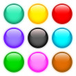 set of colored buttons — Stock Photo