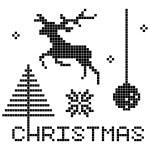 Christmas elements — Stock Photo