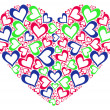 Stylized heart — Stock Photo
