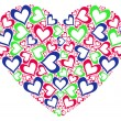 Foto Stock: Stylized heart