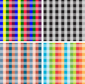 Set of striped backgrounds — Stock Photo