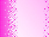 Pink background with pixels — Foto de Stock