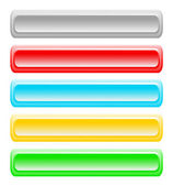 Set of bright buttons — Stock Photo