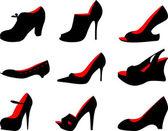 女鞋子 — 图库照片