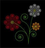 Floral design — Stock Photo