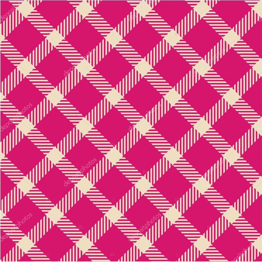 Plaid texture, vector pattern  Stock Photo #6665368