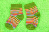 Baby socks — Stock Photo