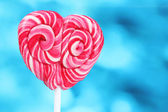 Delicious candy on stick — Stock Photo
